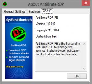 About AntiBruteRDP