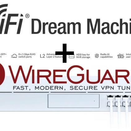 Setting up WireGuard VPN on the UniFi Dream Machine Pro (UDM Pro)